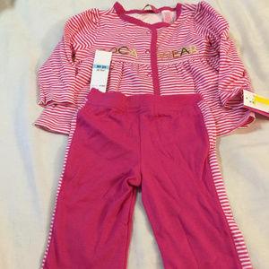 Rocawear 3 piece Infant Pink Set (New)